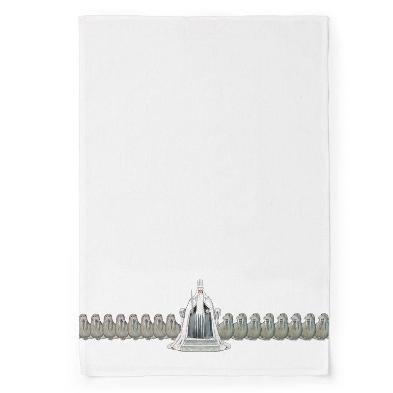 エルサべスコフ・キッチンタオル45×65cm/King Winter(冬の王様)DESIGN HOUSE stockholm(デザインハウス ストックホルム)