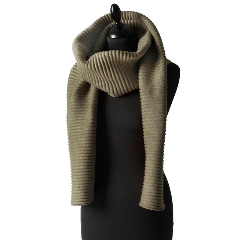 Pleece Long scarf(プリース・ロングスカーフ)マフラー モスグリーン DESIGN HOUSE stockholmデザインハウス・ストックホルム