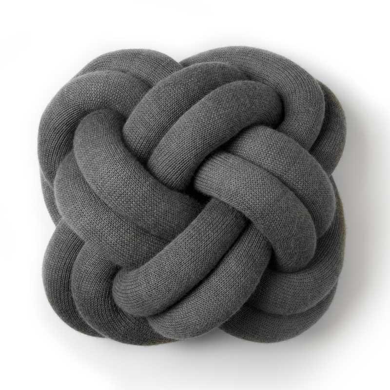 Knot Cushion(ノットクッション)30cm グレー  DESIGN HOUSE stockholm(デザインハウス ストックホルム)