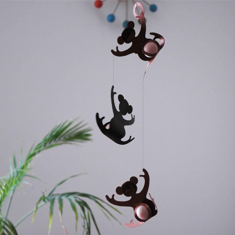Monkey(モンキー)モビール/Livingly(リビングリー)/北欧インテリア