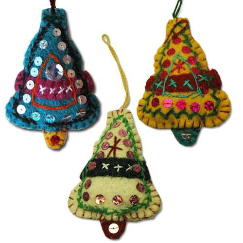 Little Tree ORNAMENT(クリスマスツリーのオーナメント)/フエルトのオーナメント/cosmique global