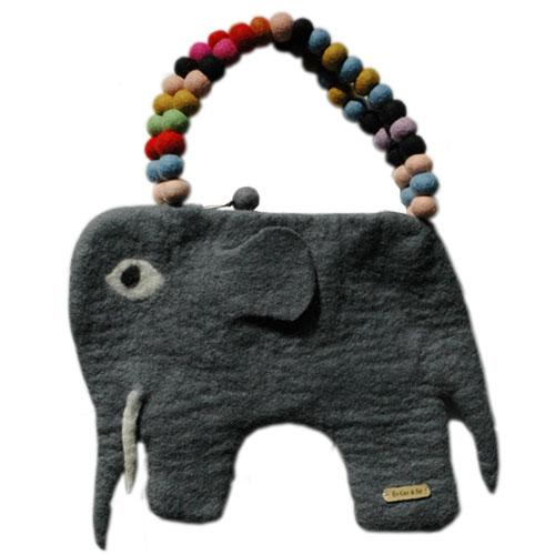KID'S BAG・キッズバッグ/elephant bag(エレファントバック)Lサイズ/EN GRY&SIF