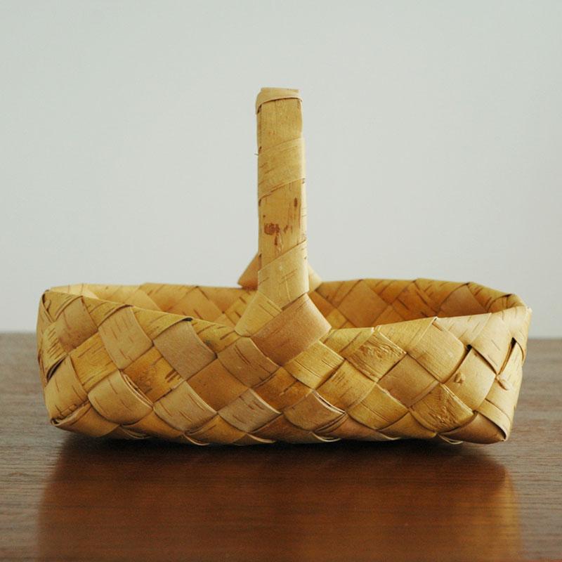 白樺バスケット・カゴ・leipakori sangolla/レイパコリ・サンゴラ(パン籠)Nadia syop(ナディアショップ)北欧フィンランド製