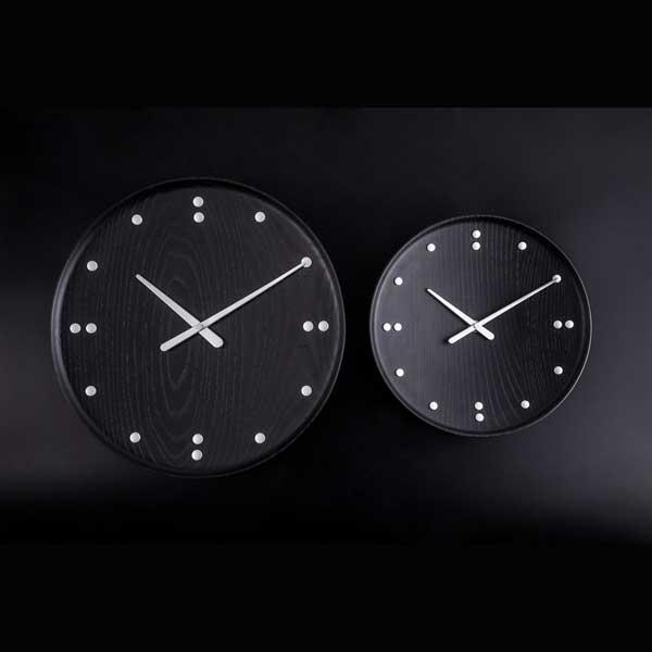 フィン・ユール 掛け時計 ブラック 34.5cm Finn Juhl Wall Clock ARCHITECTMADE(アーキテクトメイド)