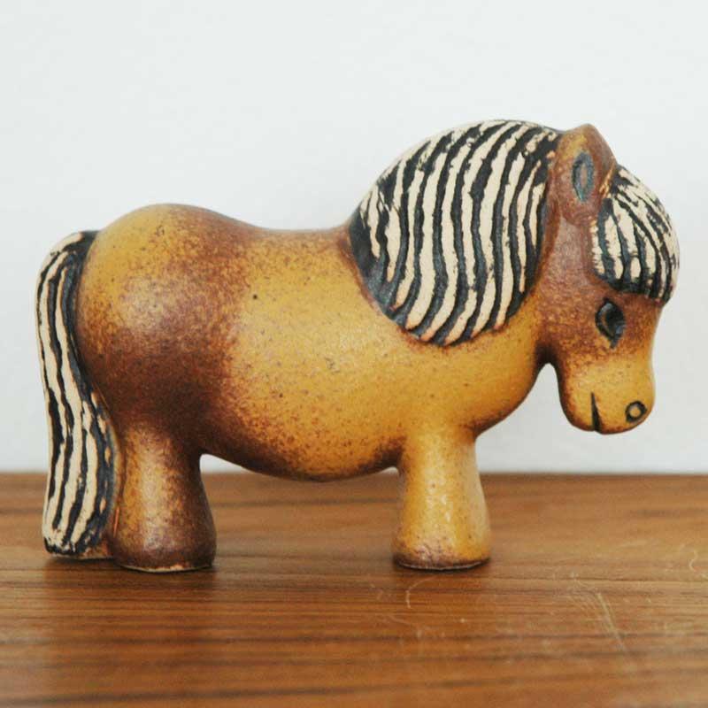 PONNY(ポニー)スカンセン動物園Lisa Larson(リサ ラーソン)北欧オブジェ・置物