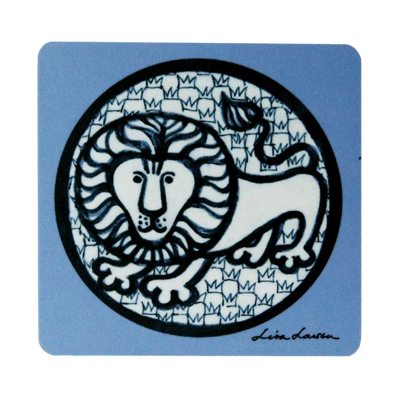 「Nina(ニナ)」木製コースター/Lisa Larson(リサラーソン)/opto design/Wooden Coaster