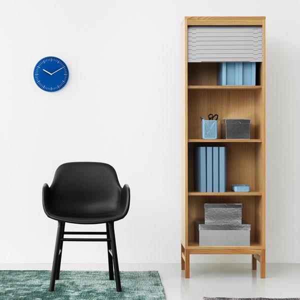 Day Wall Clock (デイ・ウォールクロック)ブルー 壁掛け時計 normann COPENHAGEN(ノーマンコペンハーゲン)
