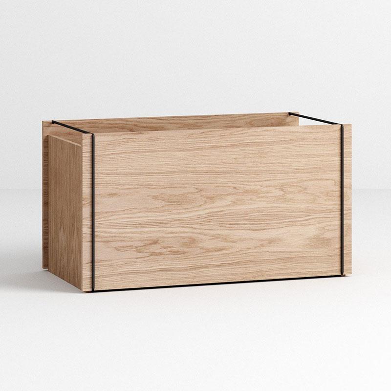 Storage Box(ストレージボックス)ブラック W60xD31xH33cm MOEBE(ムーベ) デンマーク 収納ボックス