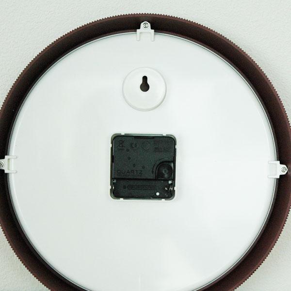 Day Wall Clock (デイ・ウォールクロック)ダークレッド 28cm 壁掛け時計 normann COPENHAGEN(ノーマンコペンハーゲン)