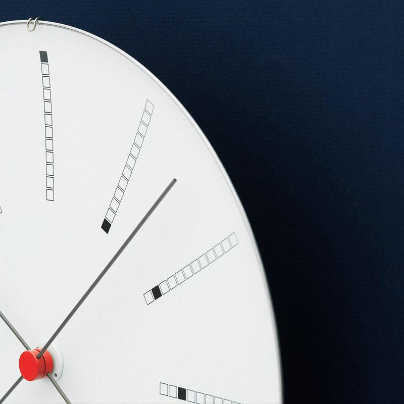 アルネヤコブセン・掛け時計・Bankersバンカーズ 29cm ARNE JACOBSEN WallClock ROSENDAHL COPENHAGEN (ローゼンダール社 コペンハーゲン)