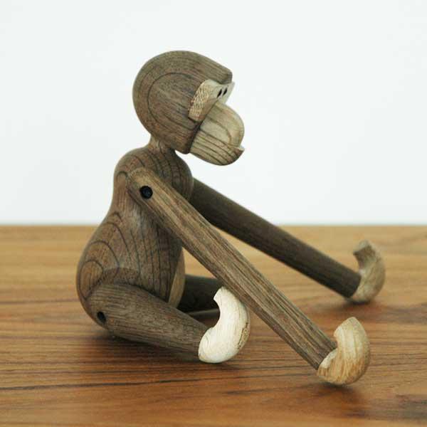 Kay Bojesen(カイ・ボイスン) MONKEY(モンキー)Sサイズ Smoked Oak(スモークオーク) 木製オブジェ デンマーク