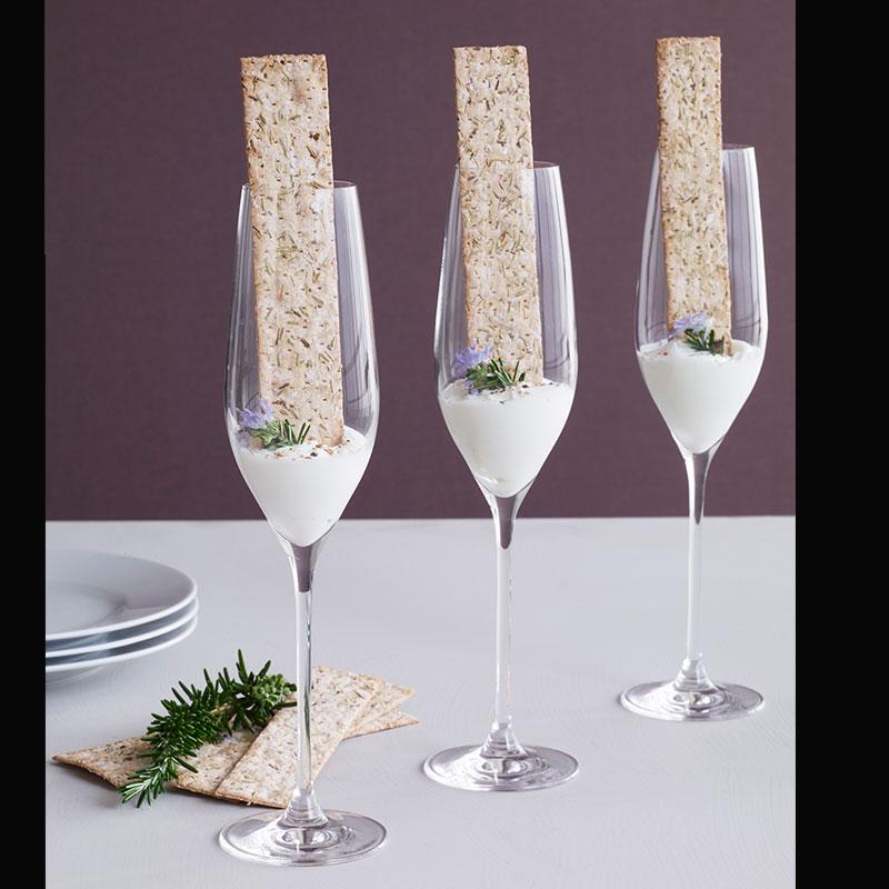 CABERNET(カベルネ)Champagne Glass(シャンパングラス)290ml HOLMEGAARD(ホルムガード)北欧グラス