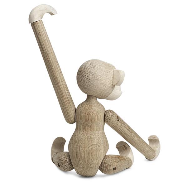 Kay Bojesen(カイ・ボイスン) MONKEY(モンキー)Sサイズ Maple*Oak(メープル*オーク) 39256 木製オブジェ デンマーク