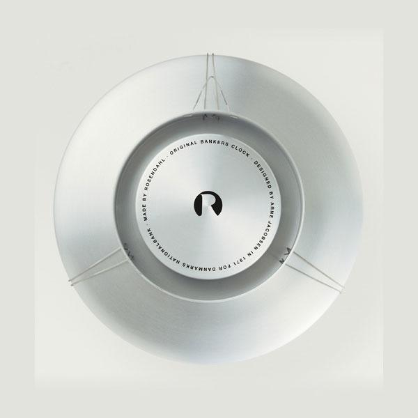 アルネヤコブセン・掛け時計・Bankersバンカーズ 12cm ARNE JACOBSEN WallClock ROSENDAHL COPENHAGEN (ローゼンダール社 コペンハーゲン)