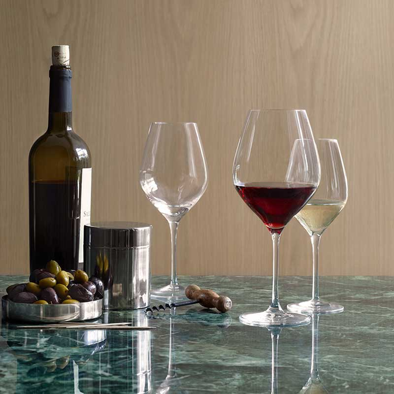 CABERNET(カベルネ)White Wine Glass(白ワイングラス)360ml HOLMEGAARD(ホルムガード)北欧グラス
