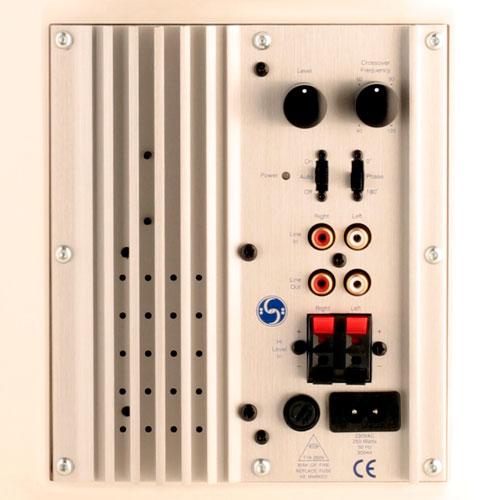 The minipod bass-station active subwoofer/ミニポッド・バス・ステーション・サブウーファー/ホワイト/クラシックエディションカラー/スキャンダイナ