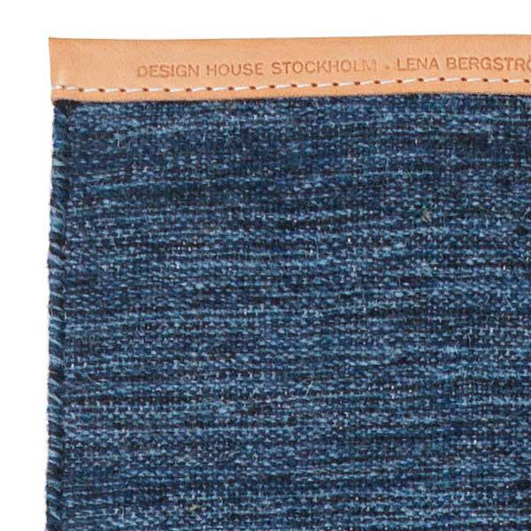 【販売終了】BJORK RUG(ビジョーク・ラグ)70×130cm/ブルー/DESIGN HOUSE stockholm(デザインハウス ストックホルム)