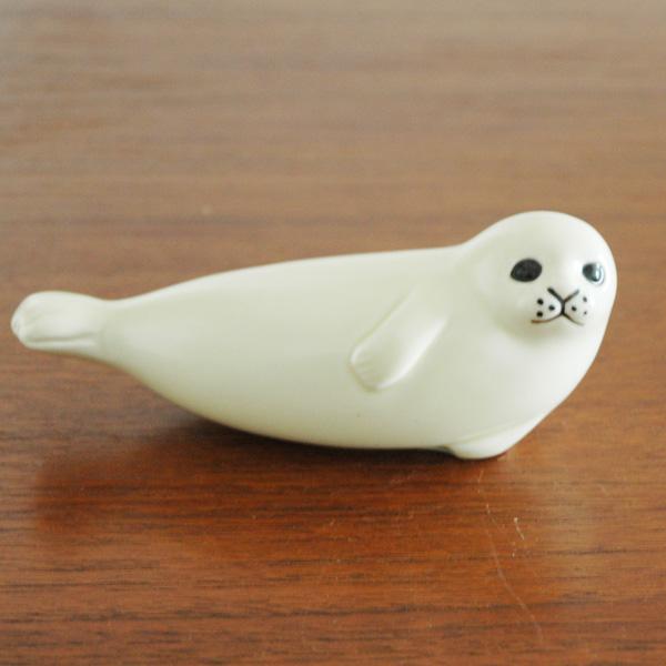 Seal midium(アザラシ)・ミディアムサイズ/スカンセン動物園/Lisa Larson(リサ ラーソン)/オブジェ・置物