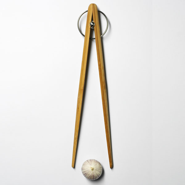 Pick up TONG bamboo 34cm・Lサイズ/DESIGN HOUSE stockholm(デザインハウス ストックホルム)/木製トング