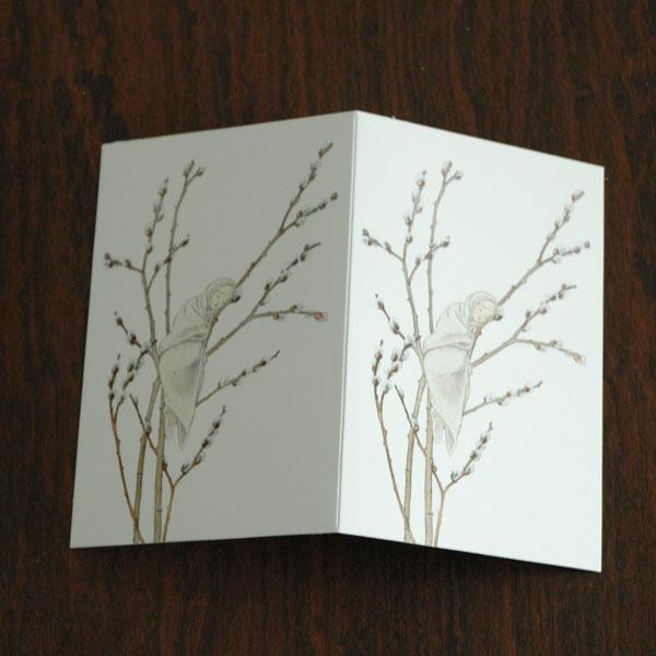 エルサべスコフ・カード・Little Willow(小さなヤナギ)・DESIGN HOUSE stockholm(デザインハウス ストックホルム)
