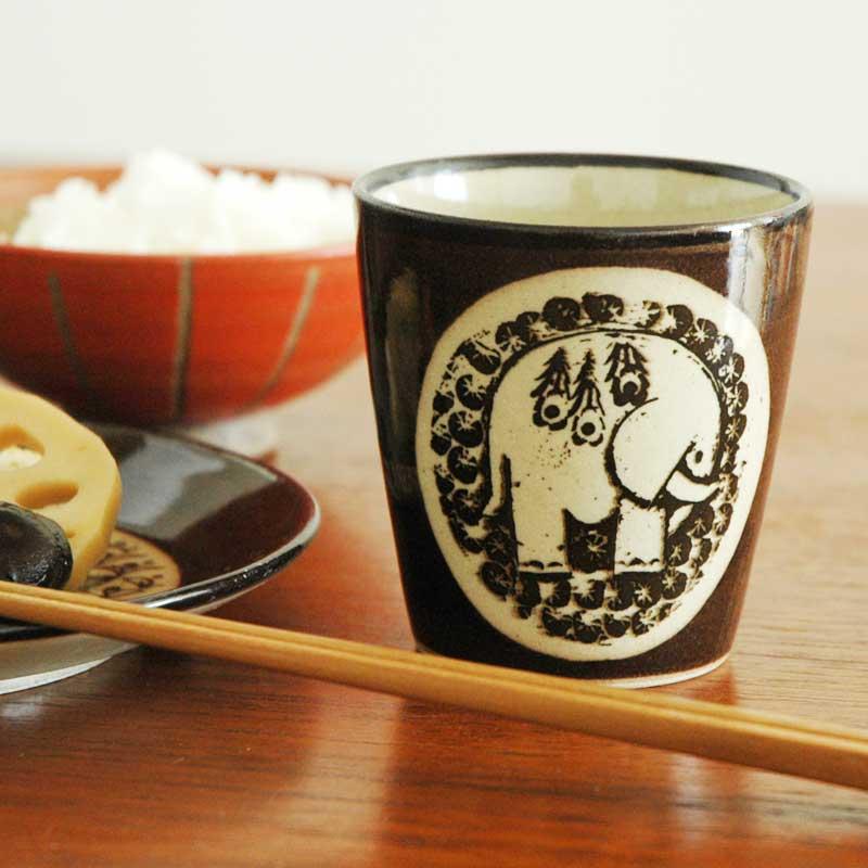 湯呑み ぞう 茶 益子焼 Japan Seriesジャパンシリーズ Lisa Larson(リサ・ラーソン)