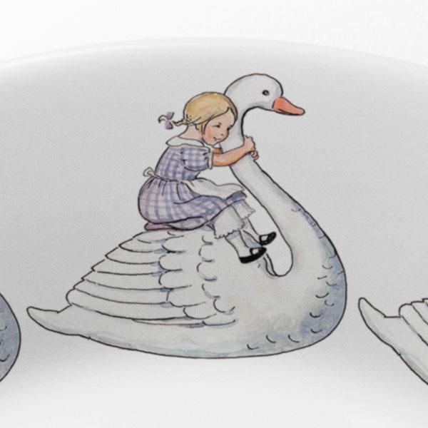 エルサべスコフ・スモールプレート21.5� Swan(スワン)DESIGN HOUSE stockholm(デザインハウス ストックホルム)