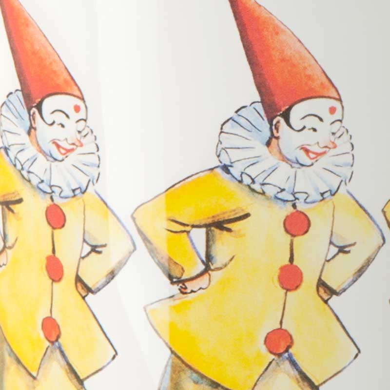 【販売終了】エルサべスコフ・カップClown(クラウン)ピエロ DESIGN HOUSE stockholm(デザインハウス ストックホルム)