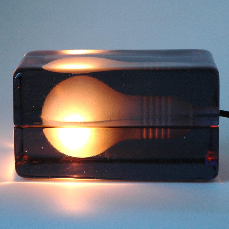 Block Lamp Smokeブロックランプスモーク DESIGN HOUSE stockholm(デザインハウス ストックホルム)