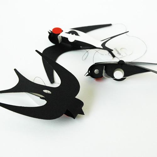 Swallow(スワロー)ツバメ・モビール/Livingly(リビングリー)/北欧インテリア