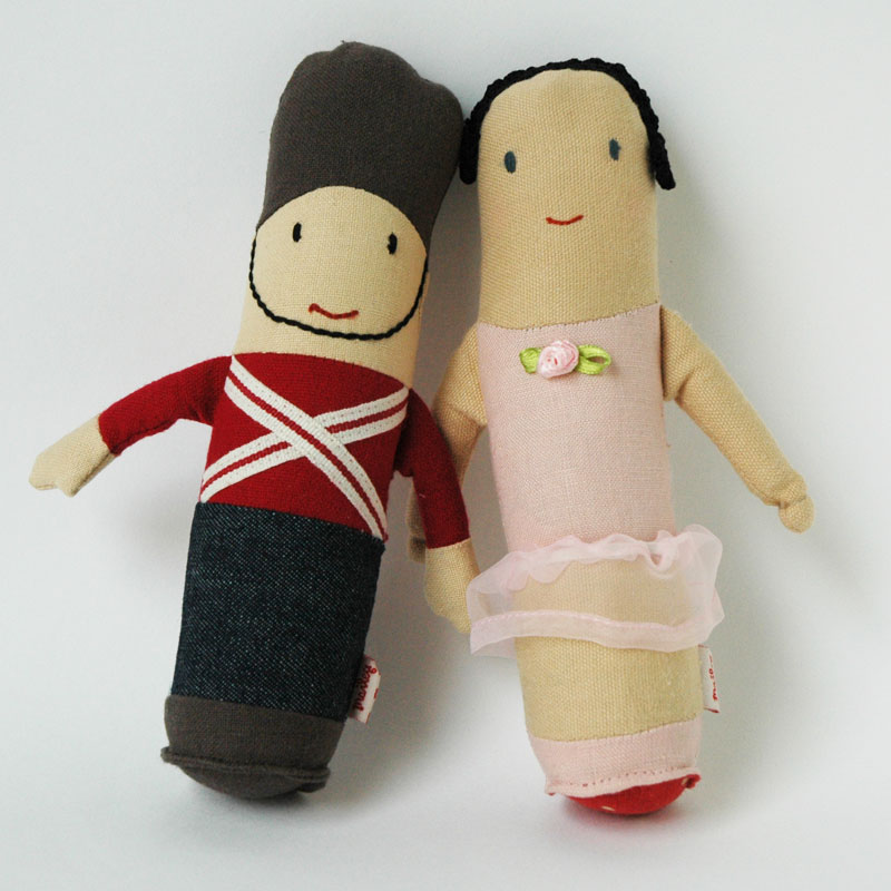 Bllerina Rattle(バレリーナのガラガラ) & Sodier Rattle(兵隊のガラガラ)・おもちゃ・Maileg(マイライ)