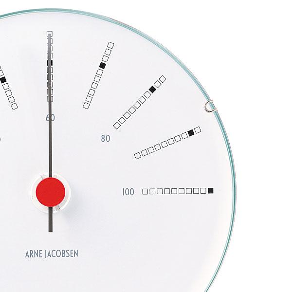 アルネヤコブセン・湿度計・Bankersバンカーズ 12cm ARNE JACOBSEN Hygrometer ROSENDAHL COPENHAGEN (ローゼンダール社 コペンハーゲン)