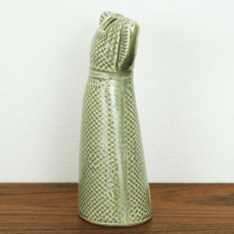 Wardrobe Vases Dress(ワードローブ・ドレス)ブラウン Lisa Larson(リサラーソン) フラワーベース オブジェ