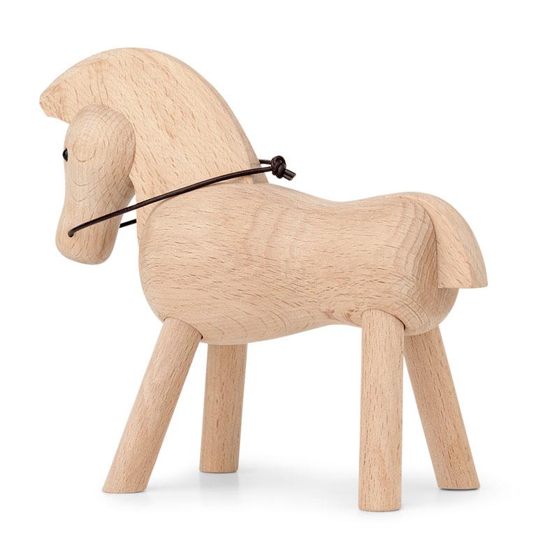 Kay Bojesen(カイ・ボイスン) HORSE(ホース)馬・ビーチ 木製オブジェ デンマーク 39210