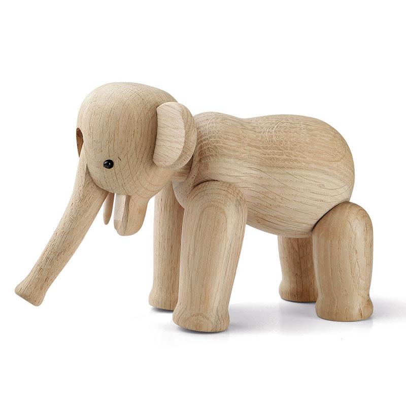Kay Bojesen(カイ・ボイスン) Elephant(エレファント)ミニサイズ ゾウ 39242 木製オブジェ デンマーク