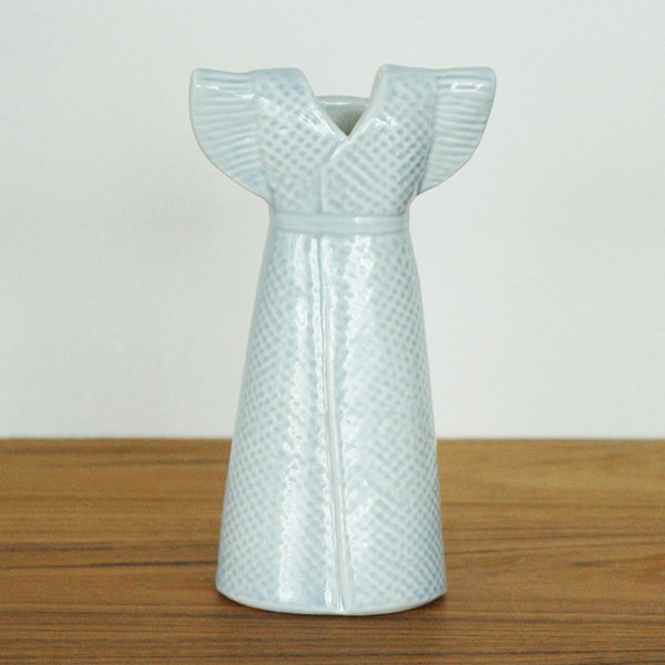 Wardrobe Vases Dress(ワードローブ・ドレス)ライトブルー/Lisa Larson(リサラーソン)/フラワーベース・オブジェ