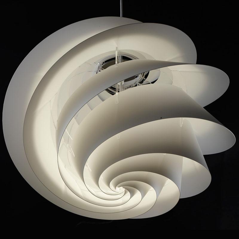 【受注発注品】LE KLINT(レ・クリント)Swirl(スワール)3 Copper(コッパー)/ミディアムサイズ/北欧ペンダントライト