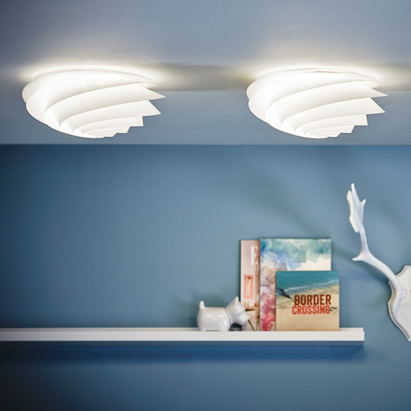 LE KLINT(レ・クリント)Swirl Ceiling(スワール・シーリング)/スモールサイズ/北欧シーリングライト