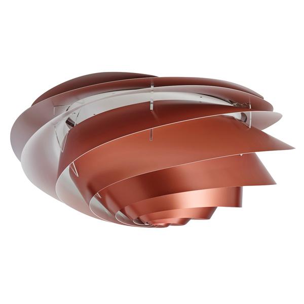 LE KLINT(レ・クリント)Swirl Ceiling Copper(スワール・シーリング・コッパー)/ラージサイズ/北欧シーリングライト