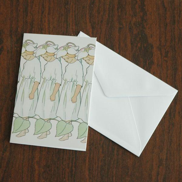 エルサべスコフ・カード・Pyrola(いちやくそう)・DESIGN HOUSE stockholm(デザインハウス ストックホルム)