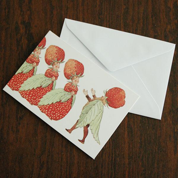 エルサべスコフ・カード・The Strawberry family(ストロベリーファミリー)・DESIGN HOUSE stockholm(デザインハウス ストックホルム)