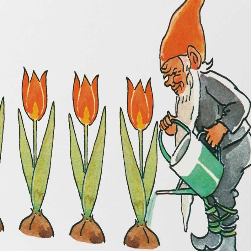 エルサべスコフ・カード・Elf&Tulips(エルフ&チューリップ)・DESIGN HOUSE stockholm(デザインハウス ストックホルム)