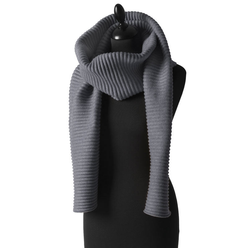 Pleece Long scarf(プリース・ロングスカーフ)ダークグレー DESIGN HOUSE stockholmデザインハウス・ストックホルム
