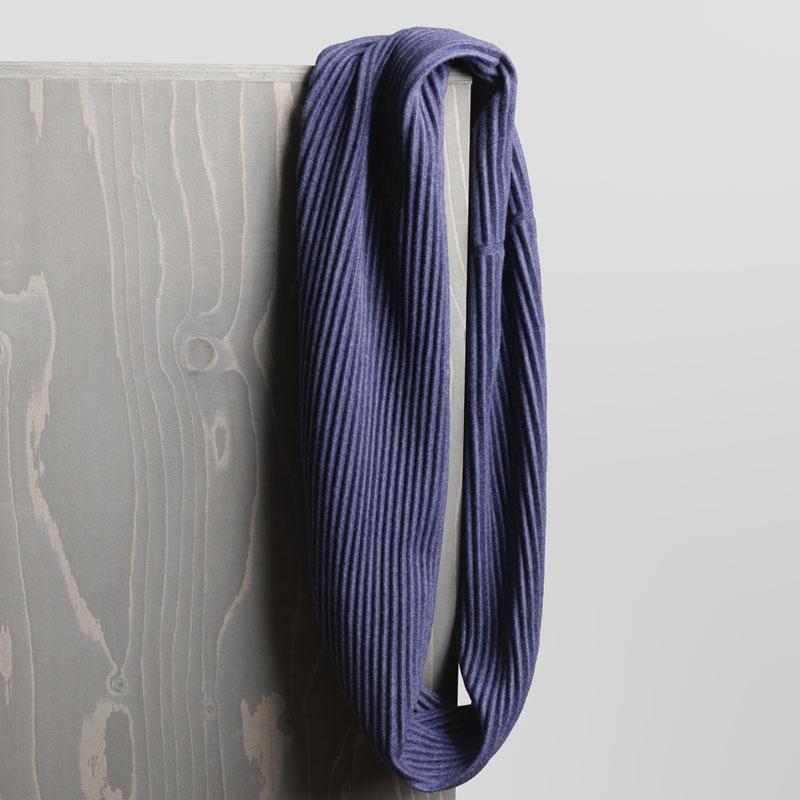 Pleece Snood(プリース・スヌード)ミッドナイトブルー マフラー・ネックウォーマー・DESIGN HOUSE stockholmデザインハウス・ストックホルム
