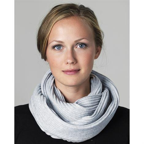 Pleece Snood(プリース・スヌード)ライトグレー マフラー・ネックウォーマー・DESIGN HOUSE stockholmデザインハウス・ストックホルム