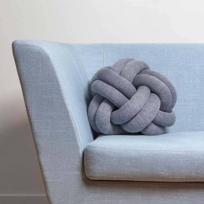 Knot Cushion(ノットクッション)30cm ピンク  DESIGN HOUSE stockholm(デザインハウス ストックホルム)
