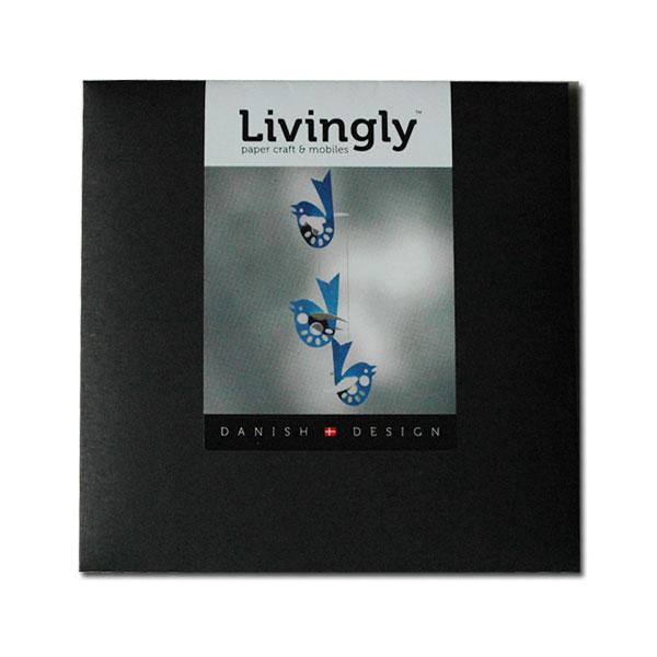 Blue Bird(ブルーバード)モビール Livingly(リビングリー) 北欧デンマーク
