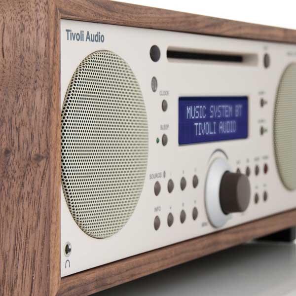 Music System BT Generation2(ミュージックシステム ビーティー)Bluetooth対応モデル/ウォールナット×ベージュ/ラジオ/Tivoli Audio(チボリオーディオ)