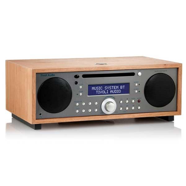 Music System BT Generation2(ミュージックシステム ビーティー)Bluetooth対応モデル/チェリー×メタリックトープ/ラジオ/Tivoli Audio(チボリオーディオ)