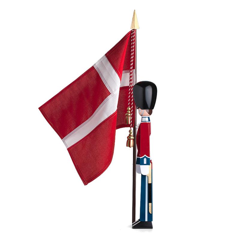 Kay Bojesen(カイ・ボイスン)STANDARD-BEARER 衛兵 旗持ちMサイズ H77cm  39224 木製オブジェ デンマーク