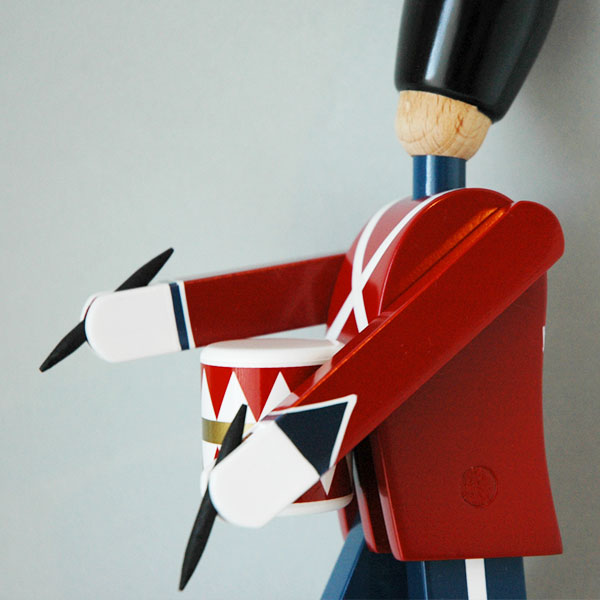 Kay Bojesen(カイ・ボイスン) DRUMMER 衛兵 太鼓持ち 木製オブジェ デンマーク